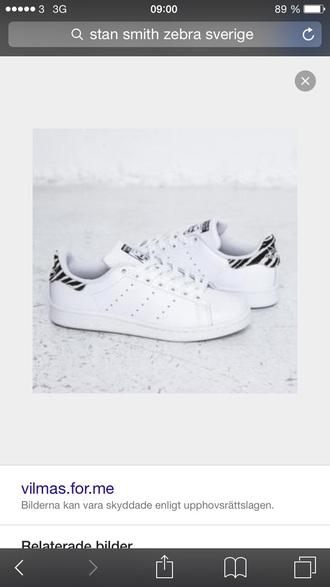 shoes stan smit zebra