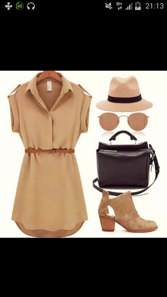 ankle boots sunglasses