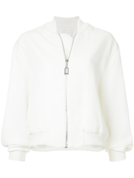 jacket bomber jacket women soft white