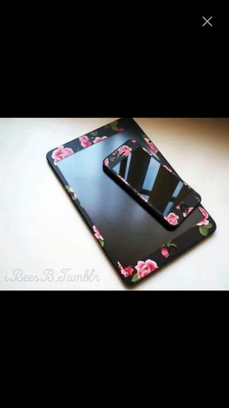 phone cover iphone black case iphone cover flower case iphone 5 case