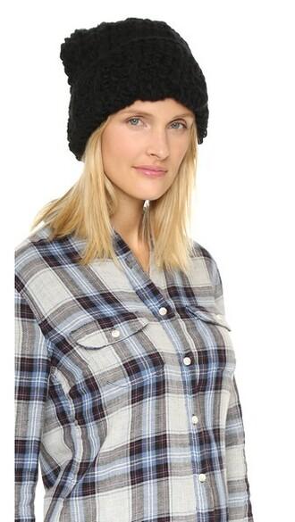 hat beanie black