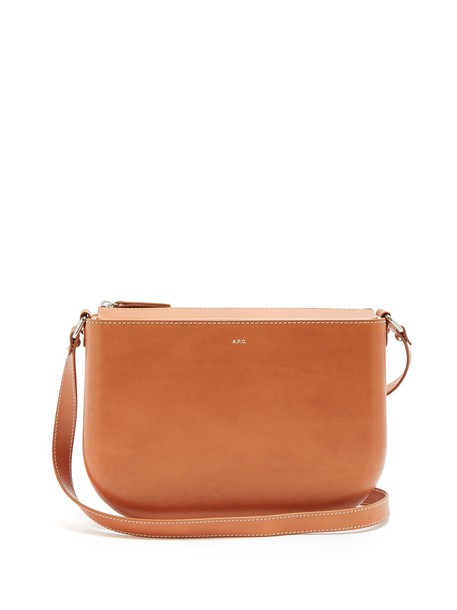 A.P.C. bag shoulder bag leather tan