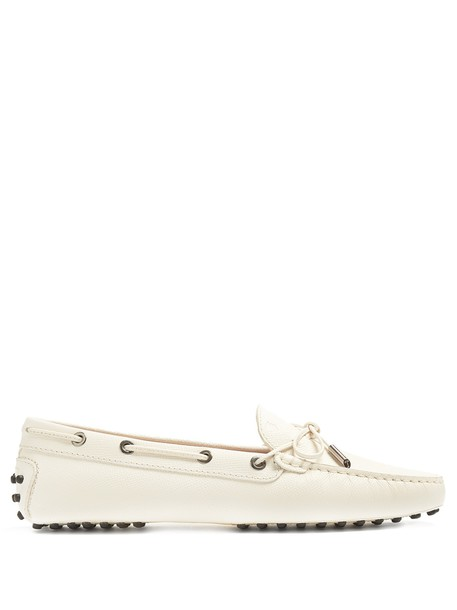 TOD'S loafers white shoes