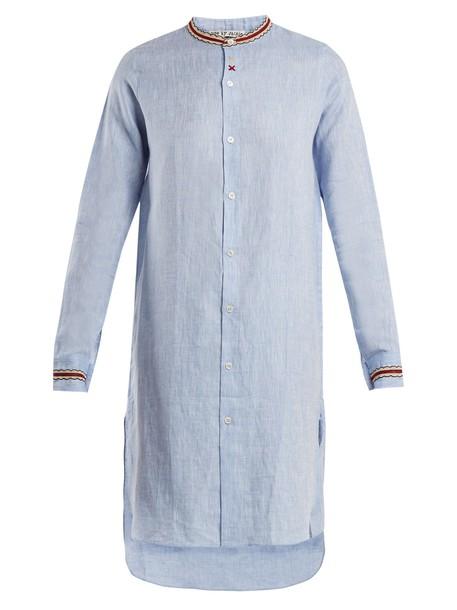 JUPE BY JACKIE shirt long light blue light blue top