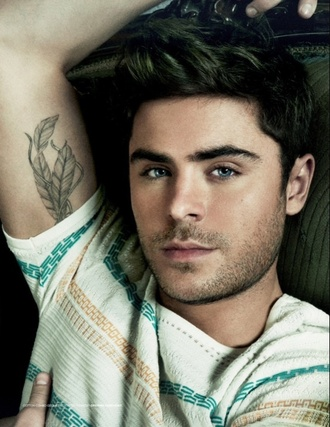 shirt zac efron green white orange hot hot &sexy