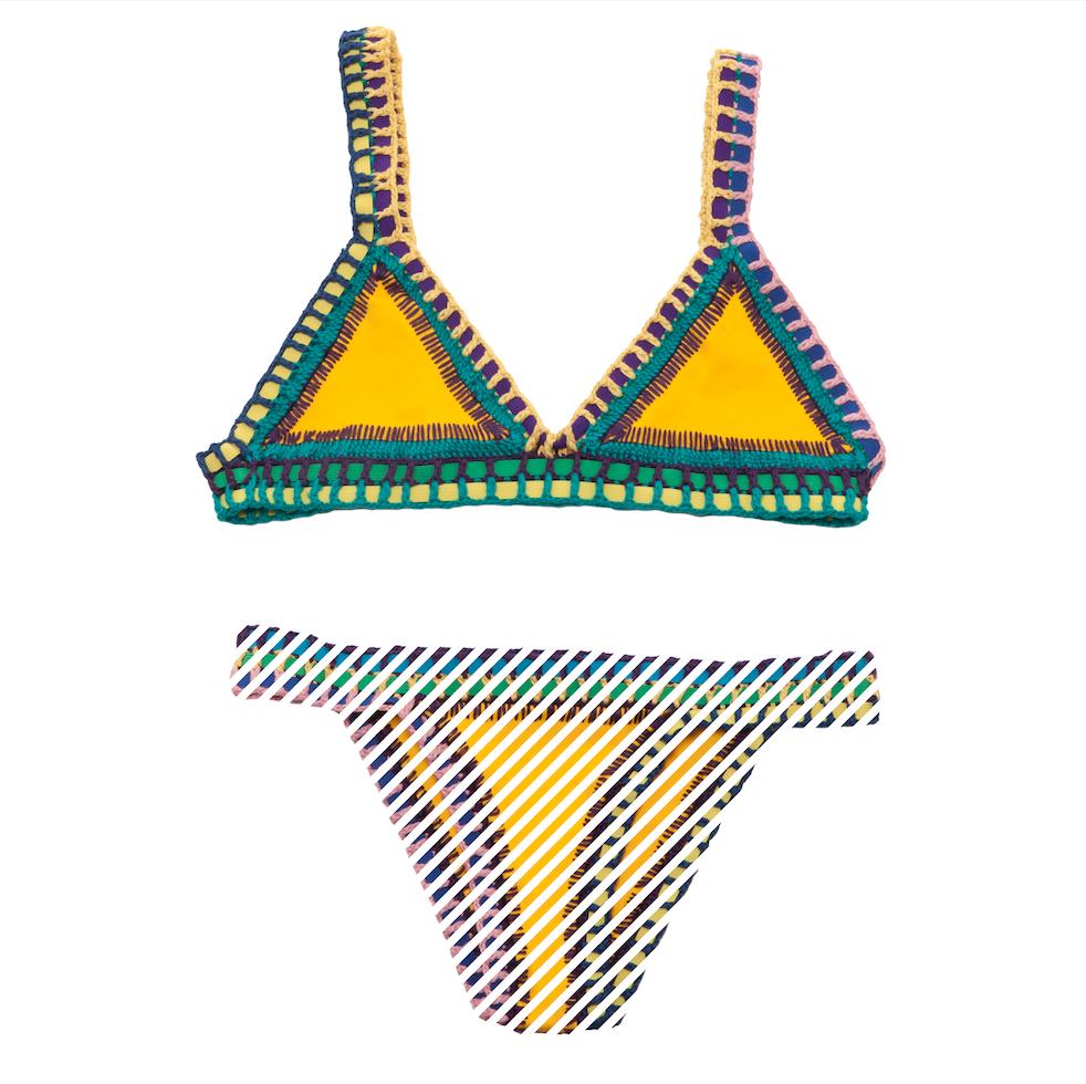 Swimwear Bikini Neoprene Bikini Crochet Bikini Bikini Top