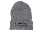 hat,beanie,grey beanie,comme,des,swag,badhairday,good look,new york city