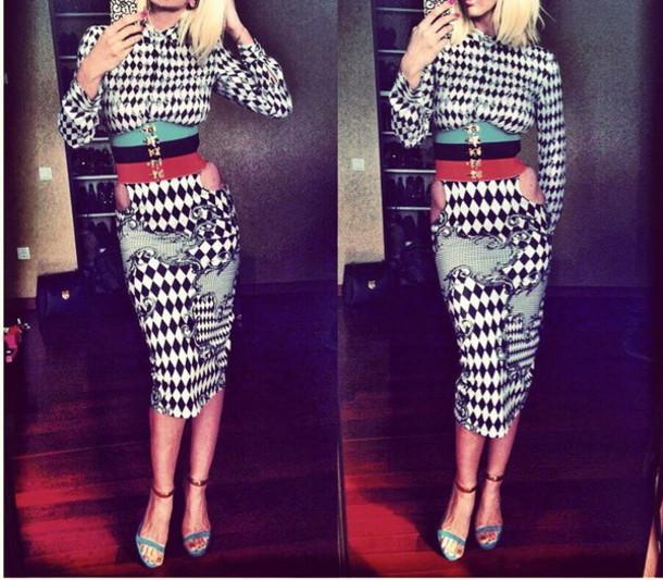 fee3cf094 skirt midi skirt shirt dress h&m balmain bodycon dress bodycon skirt  evening outfits sexy outfit pencil