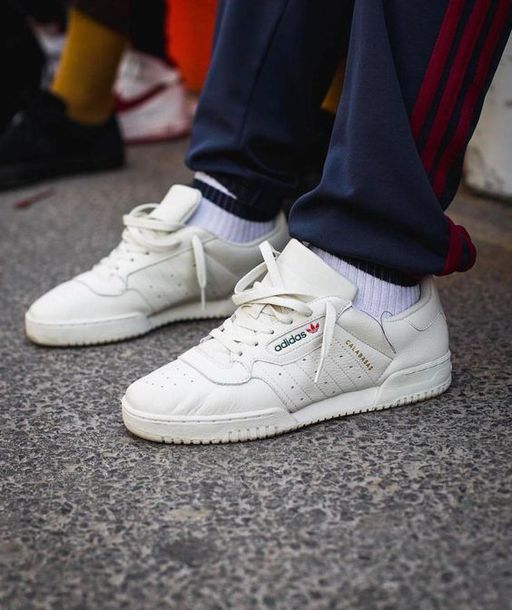 "6bf8342f99fb shoes adidas ""calabasas"" powerphase adidas adidas shoes white sneakers  sneakers mens sneakers low top"
