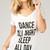 Dance All Night Sleep All Day Tee