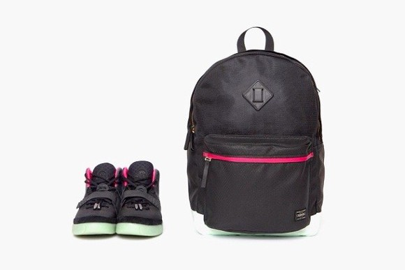 bag black bag black yeezy back pack porter magic stick x porter limited edition yoshida kaban bags men's bag yeezy