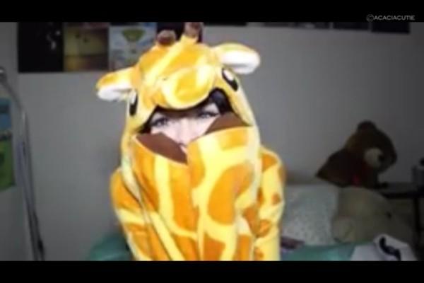 pajamas giraffe onesie