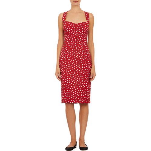 Dolce & gabbana polka dot sundress at barneys.com