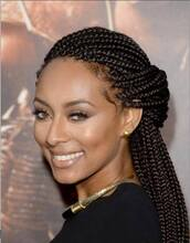 hat,braid,make-up,box braids,black girls killin it,hair accessory