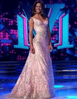 dress miss universe pageant gown