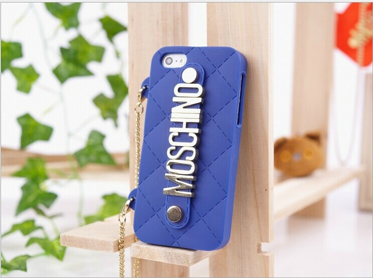 My Fancy Silicone iPhone 5 5S Purse Cases With Gold Chic Lettering Comes In Many Colors