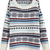 Beige Long Sleeve Striped Loose Knit Sweater - Sheinside.com