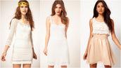 dress,summer,summer dress,white,lace,crochet,whitecrochetdress,pink skirt,white lace top,prettyy