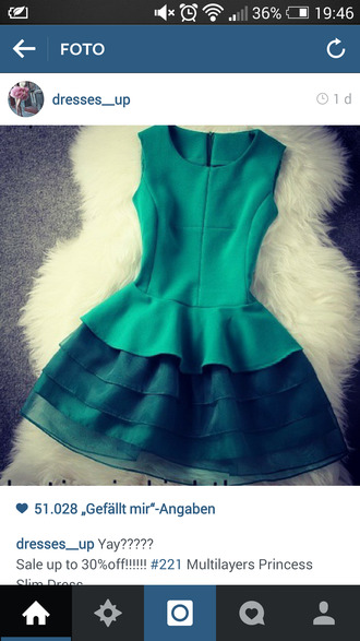 green dress princess dress instagram