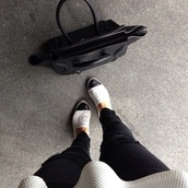 shoes,white,black,chanel,style,flats