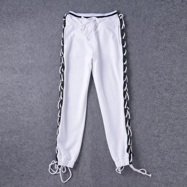 pants puma rihanna white