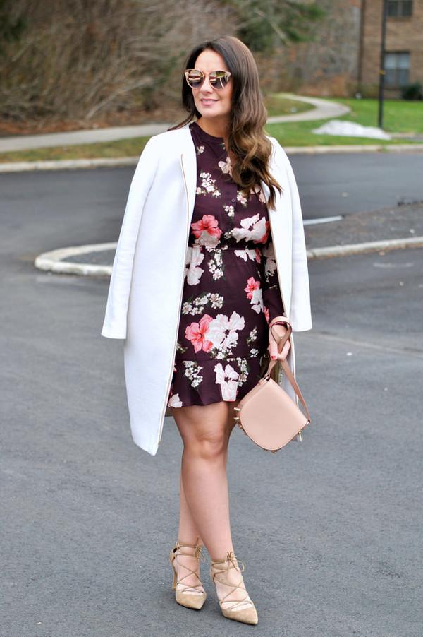 c581815c352 currentlycoveting blogger dress romper sunglasses shoes coat bag jewels.