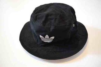 hat adidas bucket hat black