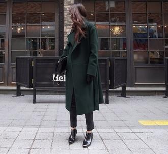 coat green long coat long coat long emerald coat green wool green coat