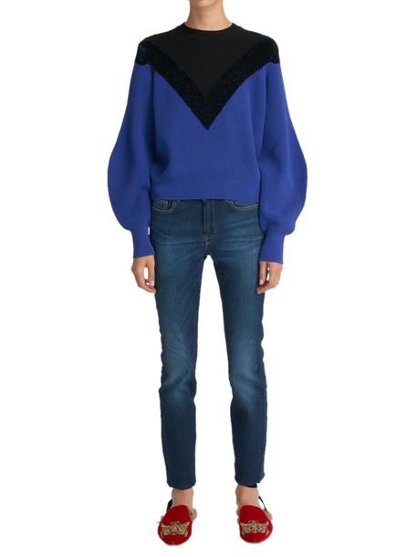 Sportmax blouse blue top