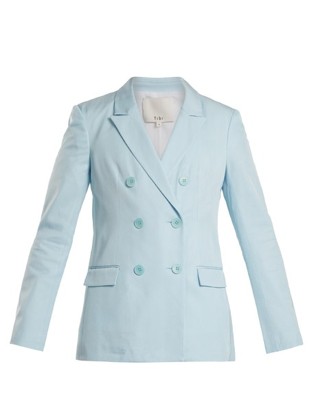 blazer light blue light blue jacket
