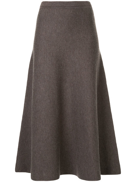 Gabriela Hearst skirt women wool purple pink