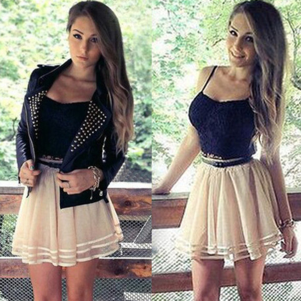 Skirt: dress, sexy dress, clothes, classy, elegant, beautiful ...