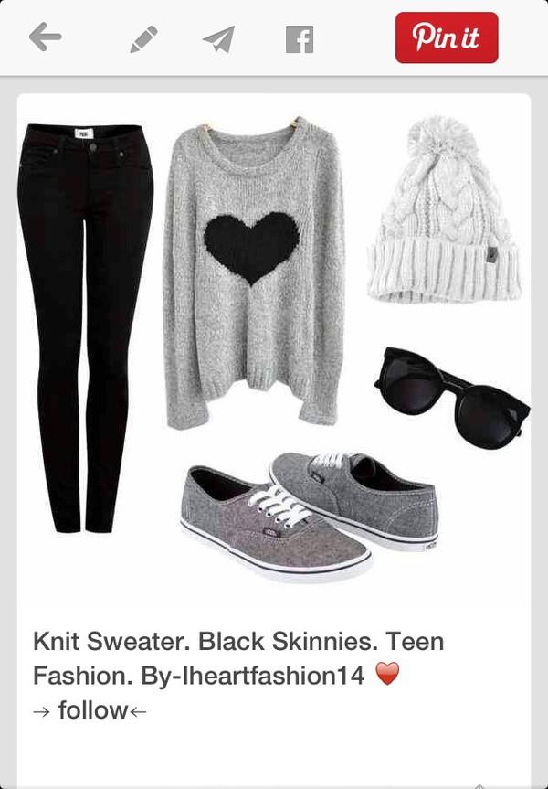 jeans sunglasses shoes