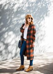 themiddlepage,blogger,coat,t-shirt,jeans,belt,shoes,bag,dress,jacket