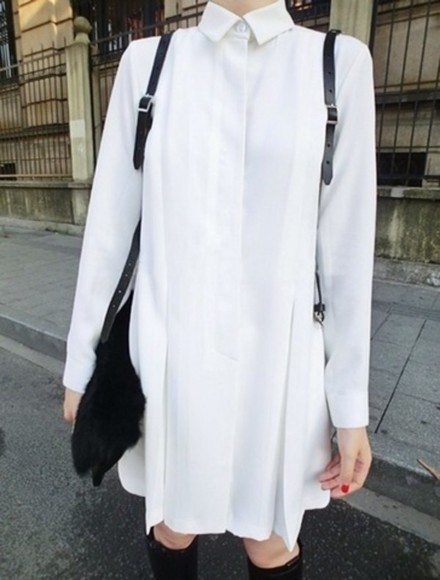 shirt button up blouse dress