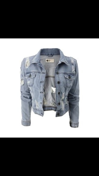 jeans jacket denim jacket used look