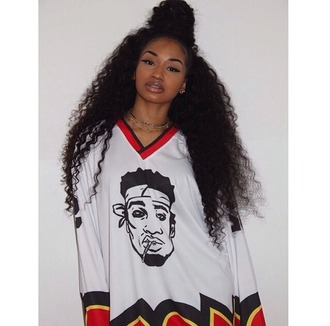 shirt bad bitches link up mixed girl big shirt model perfection on fleek jewels t-shirt black white red green dope classic