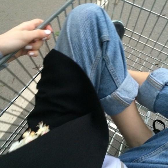 jeans demin jeans boyfriend jeans