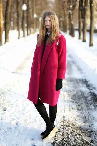 white rabbit dreams blogger red coat