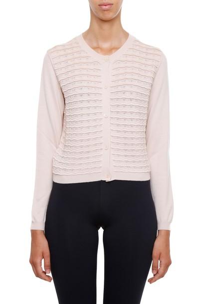 Miu Miu cardigan cardigan silk sweater