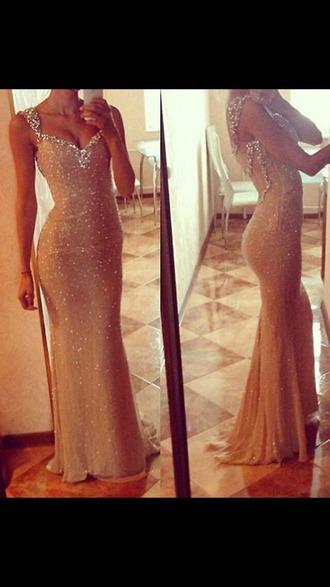 dress nude dress long dress prom dress
