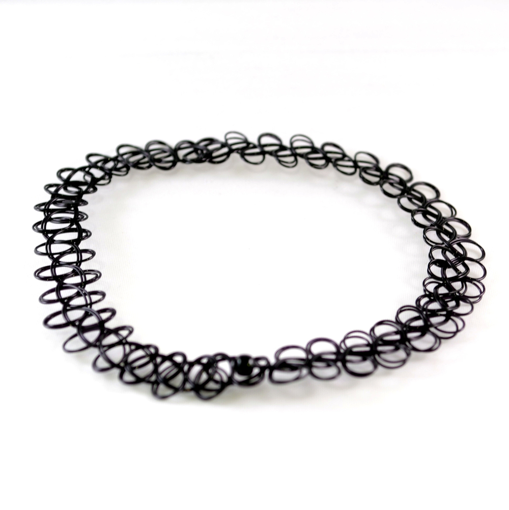 Tattoo Stretch Choker Necklace