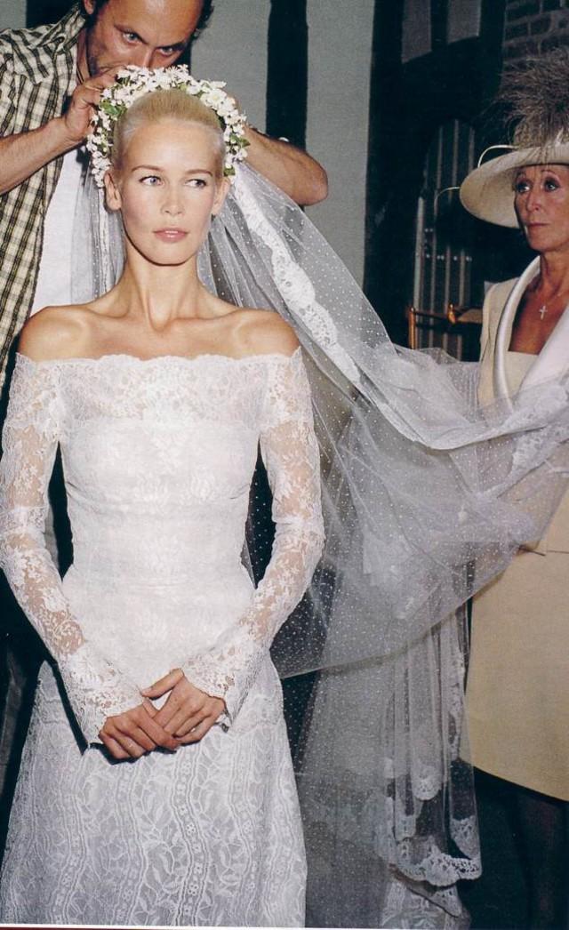 31 memorable celebrity wedding dresses we loved wheretoget