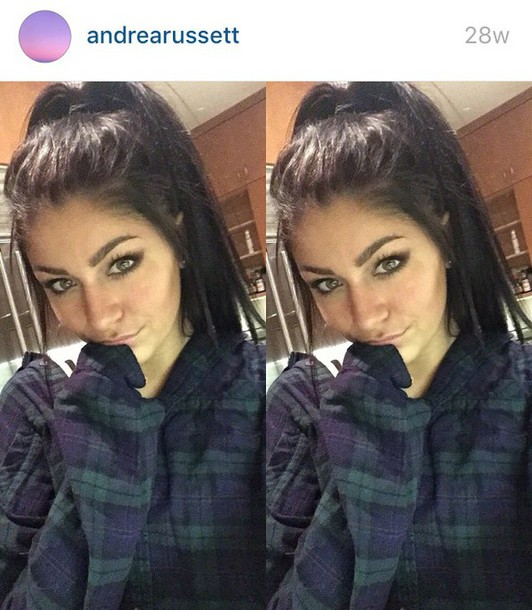 Shirt Andrea Russett Flannel Fall Outfits Cozy Plaid Plaid