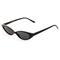 Thin retro cat eye sunglasses