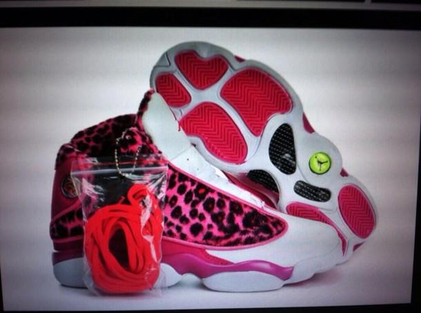 Pink Girl Jordan Shoes Pink Cheetah Girl Jordans