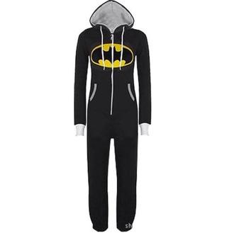 jumpsuit onepice pajamas superman batman onesie