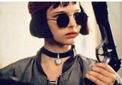 sunglasses,leon the professional,round sunglasses,sunnies,round frame glasses,glasses,black sunglasses,accessories,Accessory,natalie portman,celebrity style,celebrity,celebstyle for less,90s style,movies,90s grunge