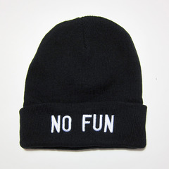 NO FUN BEANIE on The Hunt