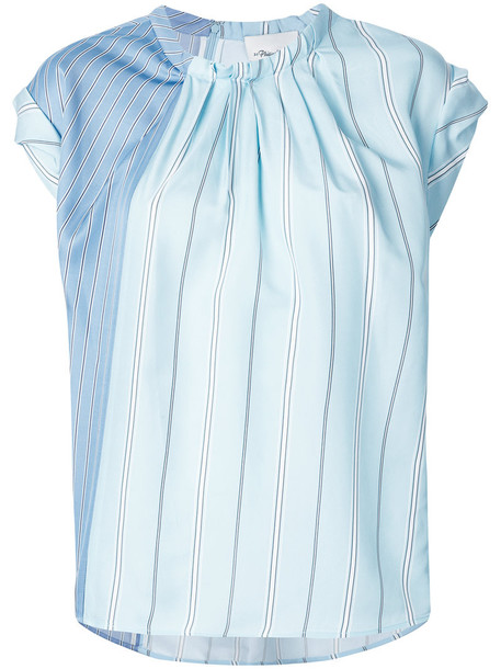 3.1 Phillip Lim t-shirt shirt striped t-shirt t-shirt women blue top
